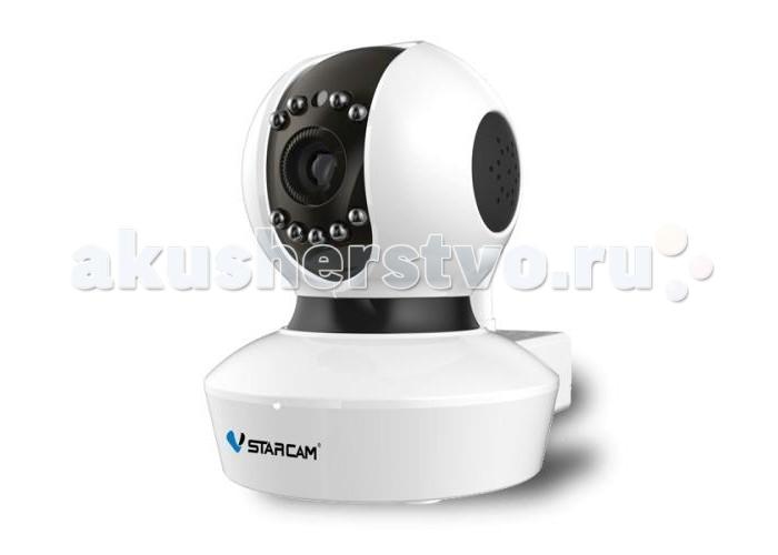 Vstarcam Корпусная камера C7838WIP MINI(C7823)Корпусная камера C7838WIP MINI(C7823)Корпусная камера C7838WIP MINI(C7823) VSTARCAM  - это бюджетная и доступная камера для использования внутри помещений, однако, она имеет существенный набор функций:  Бесплатные русскоязычные приложения для Windows, iOS и Android позволяют управлять всеми функциями камеры практически с любого устройства, подключенного к Интернет, где бы не находились. P2P: работа без статического IP-адреса. Не нужно делать сложных настроек, просто подключите камеру к сети LAN или WiFi и смотрите видео. Простая настройка WiFi по технологии Sonic Transfer Convenient Циклическая запись видео на MicroSD карту, с возможностью удаленного просмотра. Фактически, архив у Вас всегда под рукой, с компьютера или ноутбука, планшета или смартфона. Архива в качестве HD хватает на 5 суток в лучшем качестве, и на 15 суток вв среднем качестве! Поворот на 355 градусов в горизонтальной плоскости и на 120 градусов в вертикальной. Управление поворотом осуществляется прямо через приложение или веб-интерфейс. Встроенная ИК подсветка позволяет снимать в темноте на расстоянии до 10 метров Встроенный детектор движения Круиз-контроль - движение по заданным точкам Встроенный динамик для передачи звука Поддержка протоколов Onvif и RTSP для простой интеграции камеры с любыми видеорегистраторами и сервисами видеонаблюдения.  Основные преимущества P2P Wi-Fi IP-камеры VSTARCAM C7838WIP MINI (C7823WIP): Очень простая настройка, доступная каждому пользователю, даже не имеющему опыта работы с IP-камерами. Принцип Plug and Play. Технология настройки WiFi в одно касание Sonic Transfer Convenient Нет необходимости использовать статический IP-адрес. Вы экономите на абонентской плате, благодаря уникальной технологии P2P. Архив на карте памяти с возможностью удаленного просмотра. HD качество видео 720P (1280х720) Современный дизайн Русскоязычное программное обеспечение  для просмотра и управления камерами и техническая поддержка продукта.  Прос