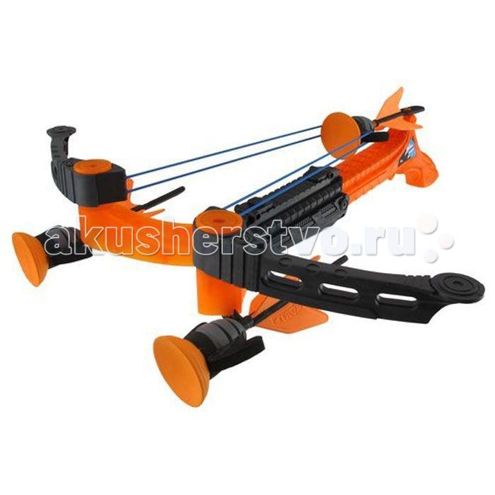 Zing Игрушечный Арбалет Ztek-Crossbow Воздушный штормИгрушечный Арбалет Ztek-Crossbow Воздушный штормАрбалет Воздушный шторм - настоящее оружие для самых маленьких стрелков. В комплект входят три стрелы с присосками, которые мощно прилипают к цели каждый раз, когда стрелок выстреливает из арбалета. Устройство достаточно мощное и прочное, поэтому у стрелка создастся впечатление того, что он пользуется настоящим оружием. Игра обязательно увлечет любого владельца и заставит его проникнуться азартным чувством. Однако не стоит забывать, что целиться по людям, животным или хрупким предметам запрещено, так как удар от стрелы может нанести травму.  В комплекте:   Арбалет; 3 стрелы с присосками.  Особенности:   Дальность действия: 10-20 м Размер упаковки: 45 х 36 х 13 см Вес: 0,774 кг<br>