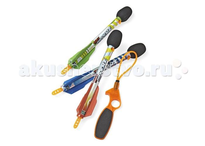 Игрушечное оружие Zing Рогатка Sky Ripperz с 3 ракетами сигнальные ракеты 15 мм купить в украине