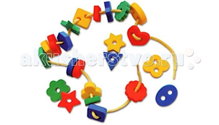 Развивающие игрушки Тедико Шнуровка Бусы бусы алга divetro бусы алга