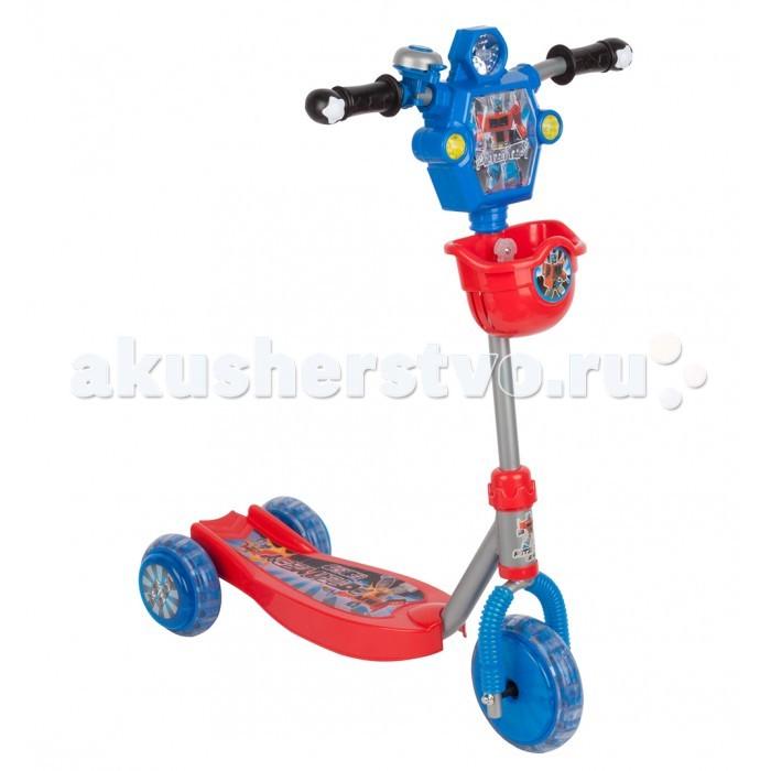 Трехколесный самокат Leader Kids трехколесный с роботом XG5307B1трехколесный с роботом XG5307B1Самокат трехколесный Leader Kids с роботом    Особенности:    Силиконовые колёса обеспечивают бесшумную езду.  Широкая платформа позволяет легко и удобно разместить на ней обе ноги при движении.  Спереди на руль крепится корзина для мелочей.   Максимальная нагрузка: 20 кг.<br>