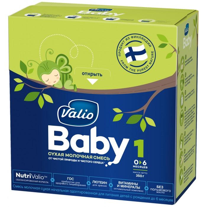 Молочные смеси Valio Baby 1 Молочная смесь 0-6 мес. 350 г молочные смеси semper молочная смесь nutradefense 1 0 6 мес 400 г
