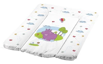 Детская мебель , Накладки для пеленания OKT Накладка для пеленания Бегемотик 70х50 арт: 24674 -  Накладки для пеленания