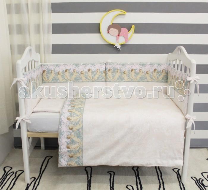 Комплекты в кроватку ByTwinz Ангелы Классика (6 предметов) комплекты в кроватку esspero king 6 предметов