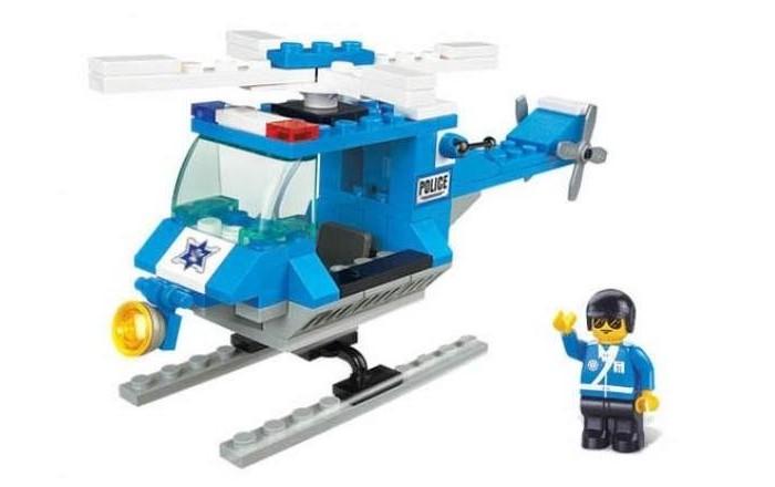 Конструкторы Sluban Вертолет и человечек 85 деталей конструкторы fanclastic конструктор fanclastic набор роботоводство