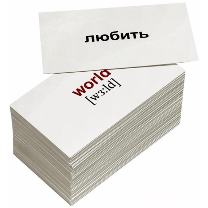 Раннее развитие Вундеркинд с пелёнок Обучающие карточки Мини-слова 120 шт. наборы карточек вундеркинд с пеленок набор обучающих карточек мини 40 nature природа
