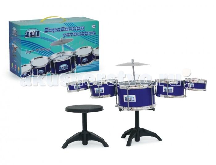 Музыкальные игрушки Sonata Барабанная установка 5 барабанов в комплекте IT100136 dali rubicon vokal black