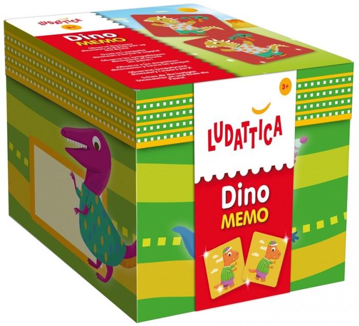 Настольные игры Ludattica Игра настольная Мемори Динозавры 52455