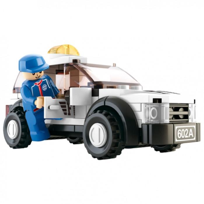 Конструкторы Sluban Машина безопасности 96 деталей конструкторы sluban аксессуары для принцессы 29 деталей