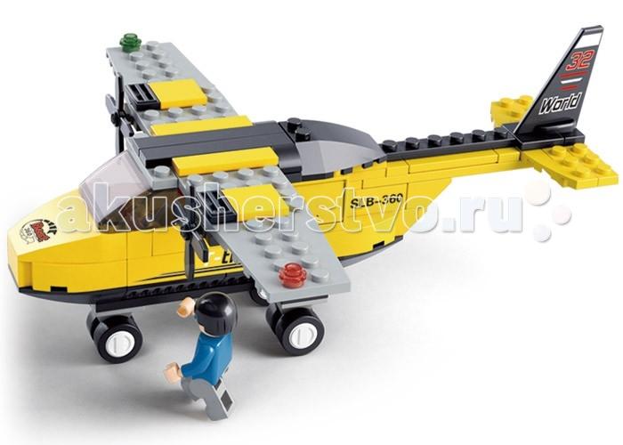 Конструкторы Sluban Аэропорт 110 деталей конструкторы fanclastic конструктор fanclastic набор роботоводство
