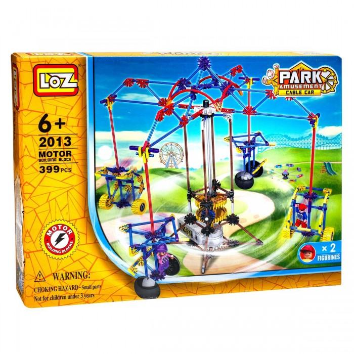 Конструкторы Loz Парк развлечений Качели для двоих 399 деталей loz 50 деталей синий зеленый