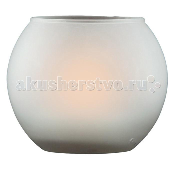 Ночники Ультра Лайт Круглая Ночник-свеча настольный настольный светильник ультра лайт kt420b желтый
