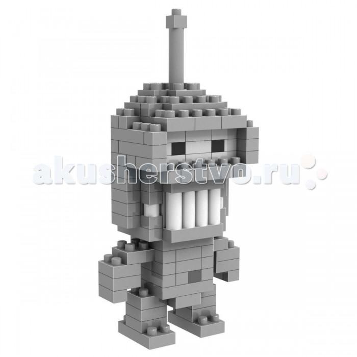 Конструкторы Loz Diamond Block Робот Бендер 150 деталей loz 140pcs m 9147 spongebob figure building block educational diy toy