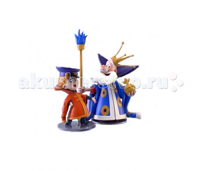 Игровые фигурки ProstoToys Набор фигурок Вовка и Царь фигурки игрушки prostotoys король бременские музыканты