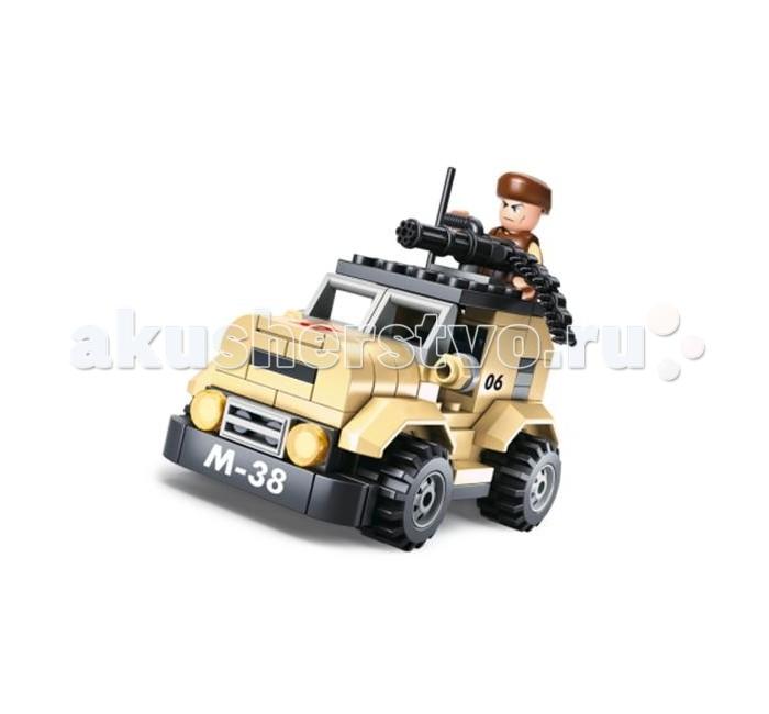 Конструкторы Sluban Армия Патрульный автомобиль 101 деталь автомобиль автомобиль иж 2717 в воронеже