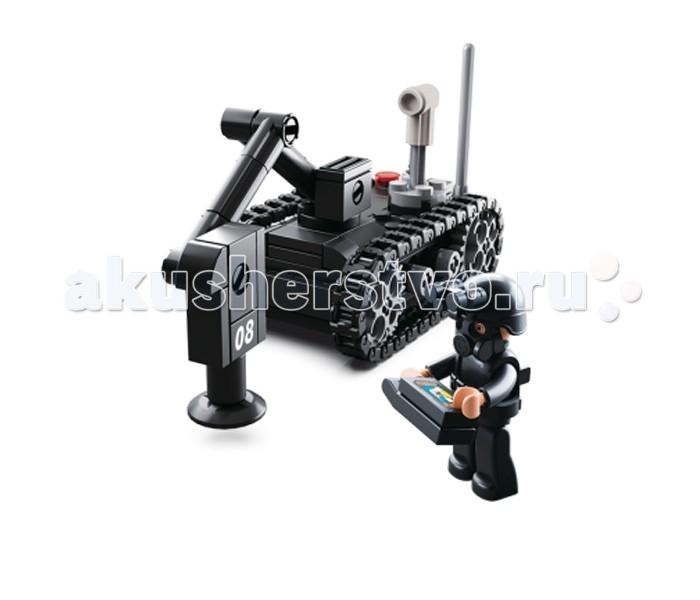 Конструкторы Sluban Армия Миноискатель 164 детали конструкторы fanclastic конструктор fanclastic набор роботоводство