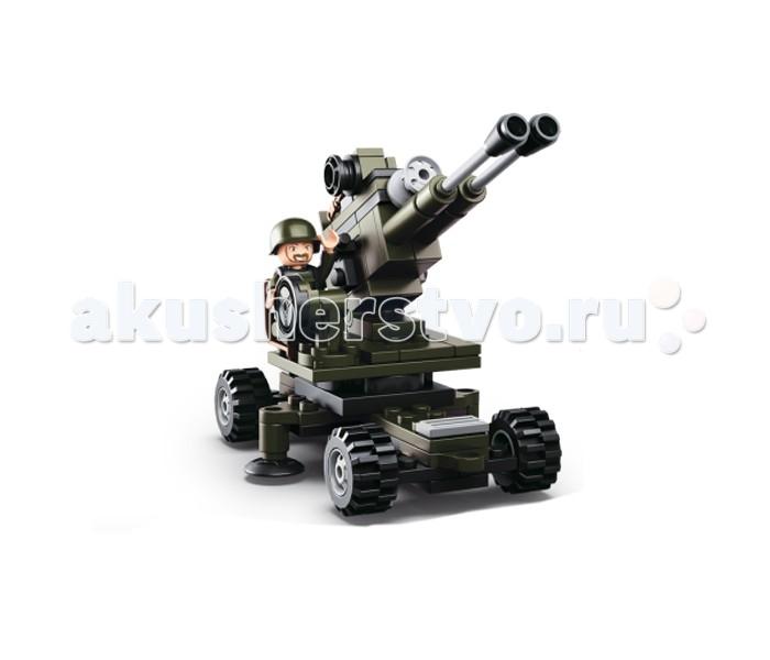 Конструкторы Sluban Армия Артиллерия 95 деталей