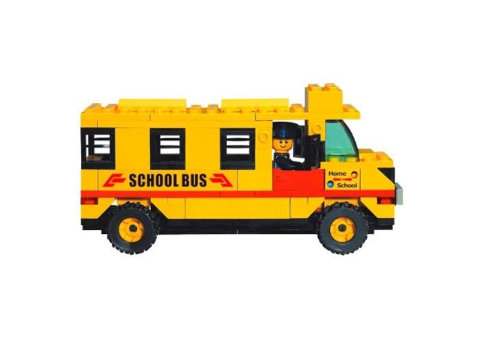 Конструкторы Sluban Школьный автобус 105 деталей shantou туристический автобус