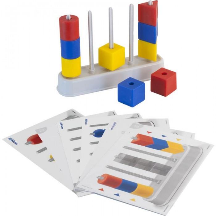 Развивающая игрушка Miniland Цветной счет с бусинами