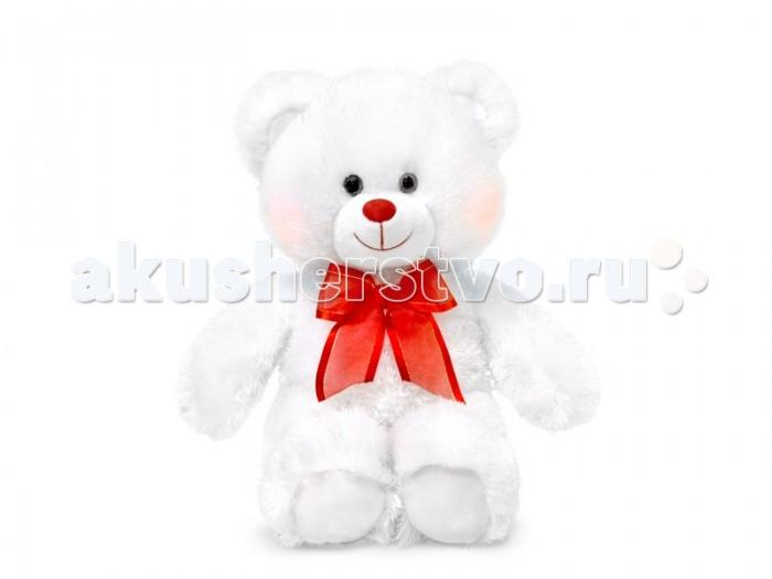 Мягкие игрушки Lava Мишка белый  светящийся 29 см lava бобер музыкальный 19 см