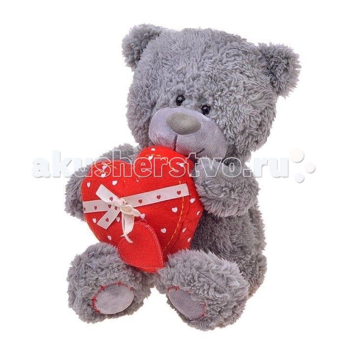 Мягкие игрушки Lava Медвежонок Дэнни с сердцем 24 см lava медвежонок с нарциссом музыкальный 20см lava