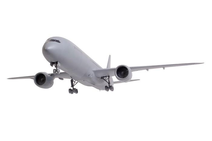 Конструктор Звезда Пассажирский авиалайнер Боинг 787-9 Дримлайнер 1:144 83 элемента