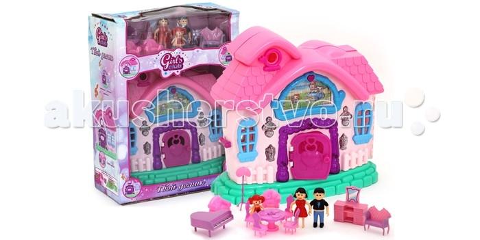 Girls Club Домик для кукол с аксессуарами IT100322 (18)