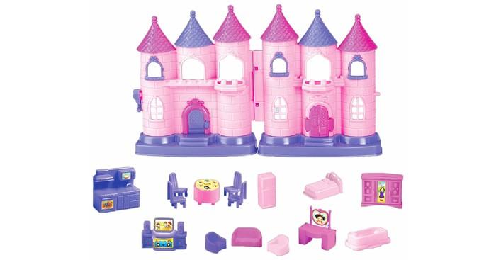 Кукольные домики и мебель Girls Club Замок для принцессы с аксессуарами IT101235 barneybuddy barneybuddy игрушки для ванны стикеры замок принцессы