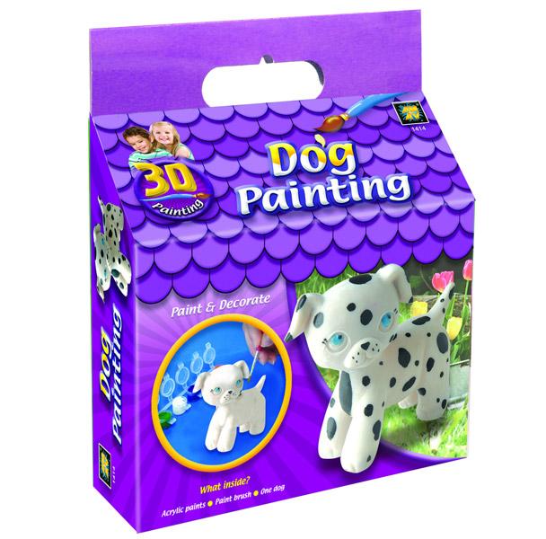 Заготовки под роспись AMAV (Diamant) Набор Раскрась щенка 3D куплю щенка цвергшнауцера в екб январские 2012