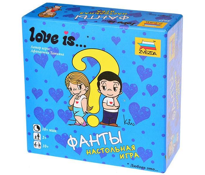 Настольные игры Звезда Настольная игра Love is... Фанты игра детская настольная фанты cards