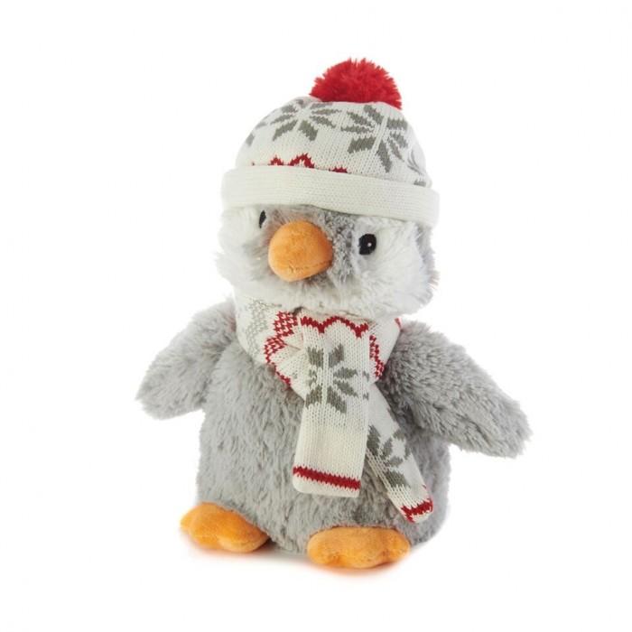 Грелки Warmies Cozy Plush Игрушка-грелка Пингвин в шапочке грелки warmies cozy plush игрушка грелка змея