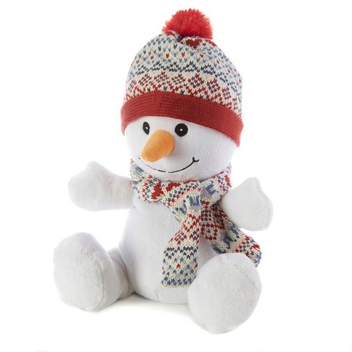 Грелки Warmies Cozy Plush Игрушка-грелка Снеговик грелки warmies cozy plush игрушка грелка змея