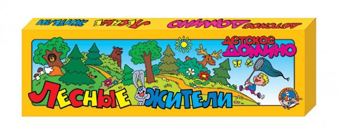 Настольные игры Десятое королевство Детское домино Лесные жители игровые центры oribel лесные друзья