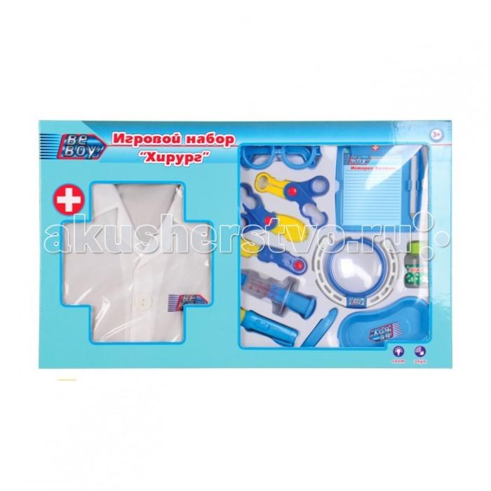 Ролевые игры BeBoy Игровой набор Хирург с халатом ролевые игры playgo игровой набор для приготовления хот догов делюкс