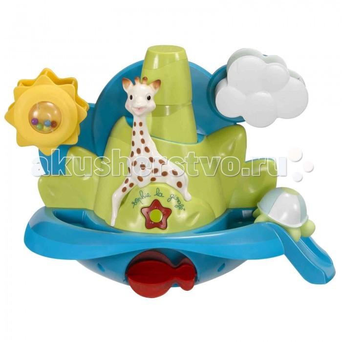 Купание малыша , Игрушки для ванны Vulli Игрушка для ванны Жирафик Софи купается 523416 арт: 25019 -  Игрушки для ванны