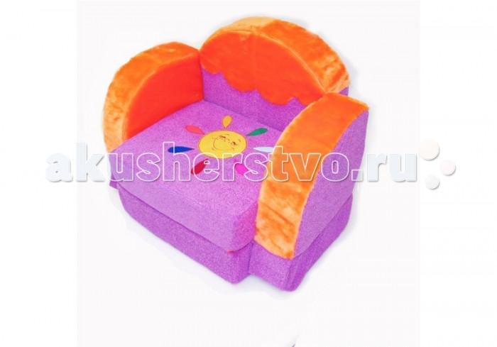 Детская мебель , Мягкие кресла Кипрей Детское раскладное кресло Мамонтенок арт: 250234 -  Мягкие кресла