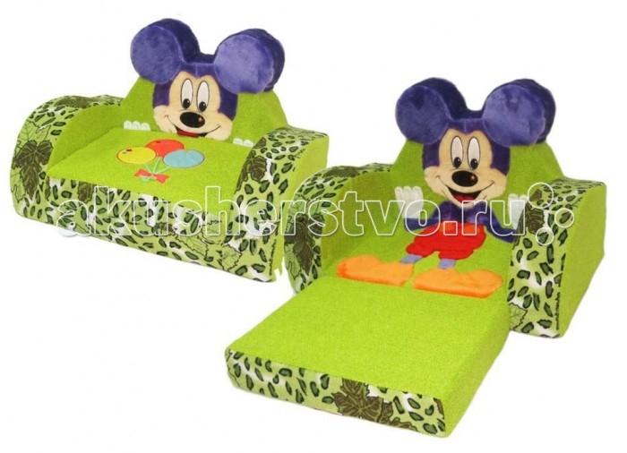 Детская мебель , Мягкие кресла Кипрей Диванчик раскладной Мышка арт: 250240 -  Мягкие кресла