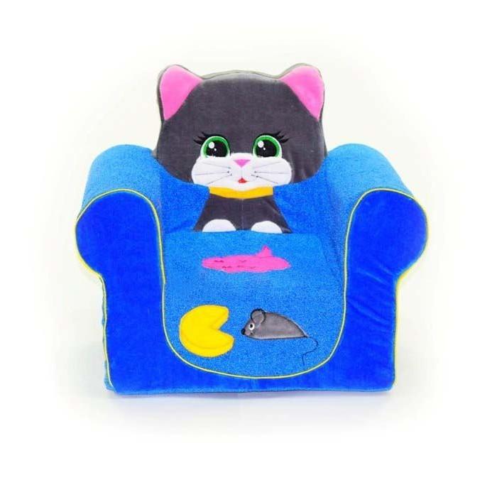 Мягкие кресла Кипрей Детское кресло Мяу-Мяу Кошечка, Мягкие кресла - артикул:250255