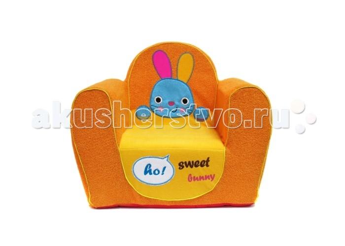 Детская мебель , Мягкие кресла Кипрей Детское кресло Sweet Bunny арт: 250321 -  Мягкие кресла