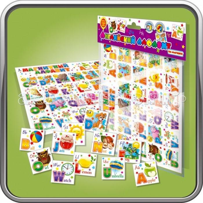Игры для малышей Оптима Пак Детская игра на магнитах Английский алфавит