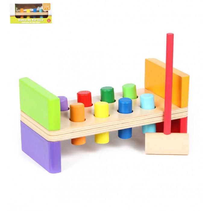 Деревянные игрушки Edufun Гвоздики развивающая деревянные игрушки теремок гвозди перевертыши 4 гвоздика