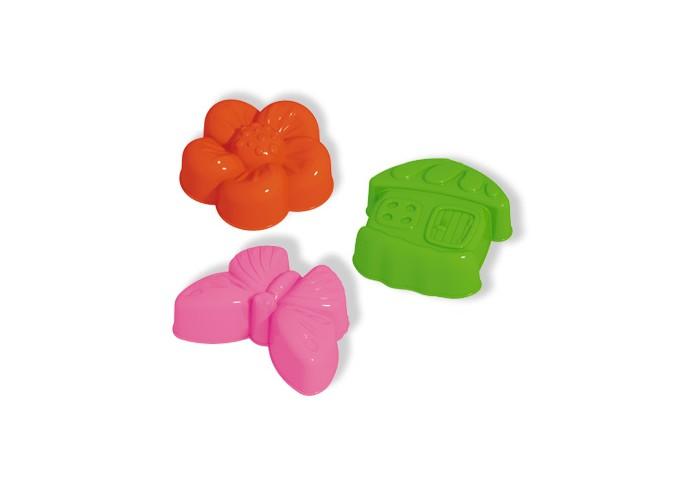 Игрушки для зимы Стеллар Формочки для песка 3 шт. 01850 формочки для песка стеллар