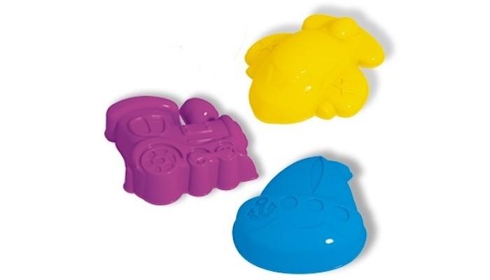 Игрушки для зимы Стеллар Формочки для песка 3 шт. 01851 формочки для песка стеллар