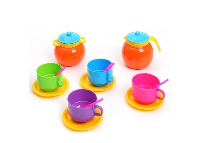 Ролевые игры Стеллар Детская посуда Чайный набор стеллар детская посуда чайный набор