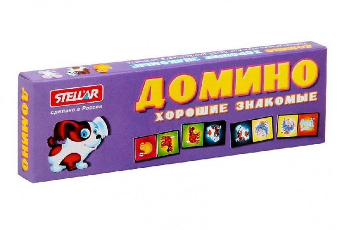 Настольные игры Стеллар Домино № 5 Хорошие знакомые стеллар домино обитатели леса стеллар