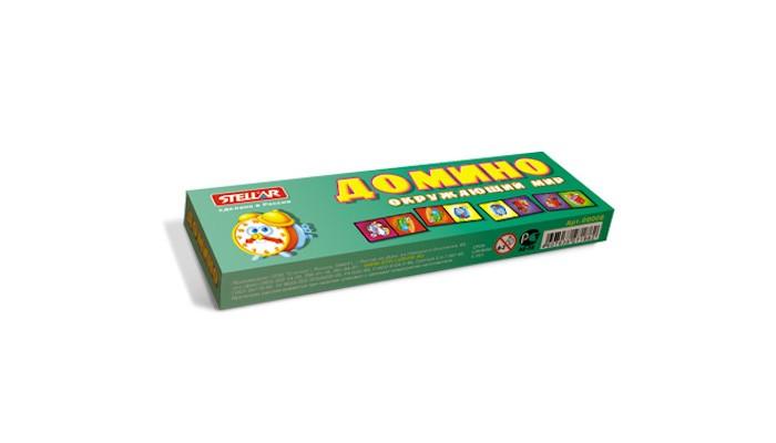 Настольные игры Стеллар Домино № 6 Окружающий мир стеллар домино обитатели леса стеллар