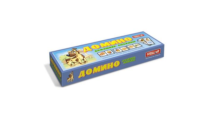 Настольные игры Стеллар Домино № 15 Домашние любимцы стеллар домино обитатели леса стеллар