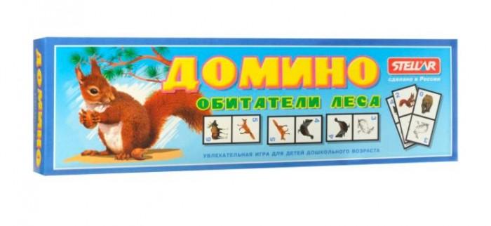 Настольные игры Стеллар Домино № 18 Обитатели леса стеллар домино обитатели леса стеллар