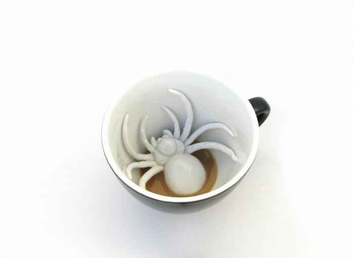 Посуда Creature Cups Кружка с пауком 330 мл creature футболка creature the bible white