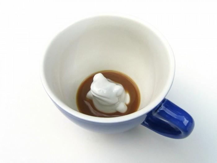 цены на Посуда Creature Cups Кружка с лягушкой 330 мл в интернет-магазинах